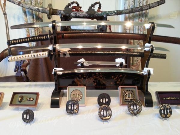 A table display at the Token Taikai
