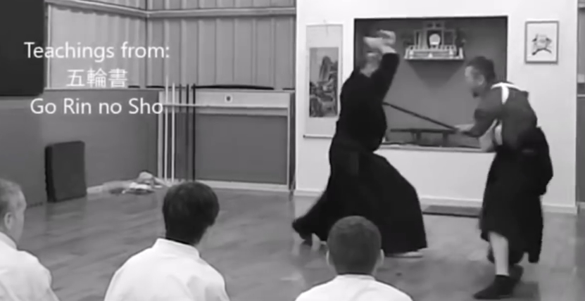 Image of Cummins teaching techniques from the Go Rin no Sho