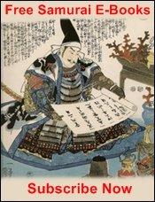 Free Samurai E-Books
